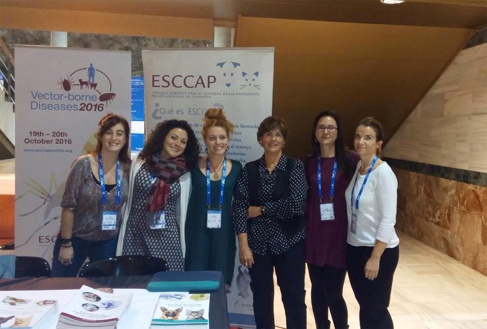 ESCCAP en el Southern European Veterinarian Conference, Granada 2016
